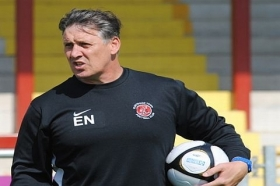 Eric Nixon announced as new Macclesfield Town FC goalkeeping coach.