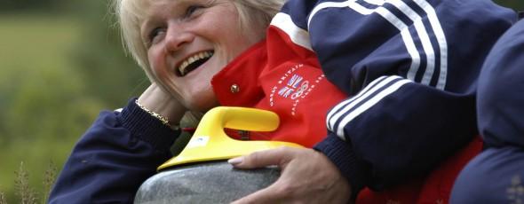 Rhona Martin MBE - Curling