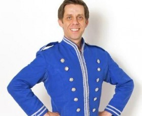 Nick Cochrane stars as Buttons in Cinderella at the St Helens Theatre Royal.