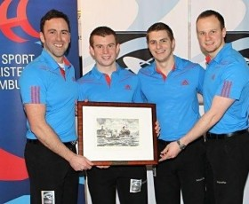 David Murdoch and Curling sensations Team Brewster win in Hamburg