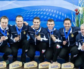 David Murdoch and Scots curlers secure Bronze at European Championships.